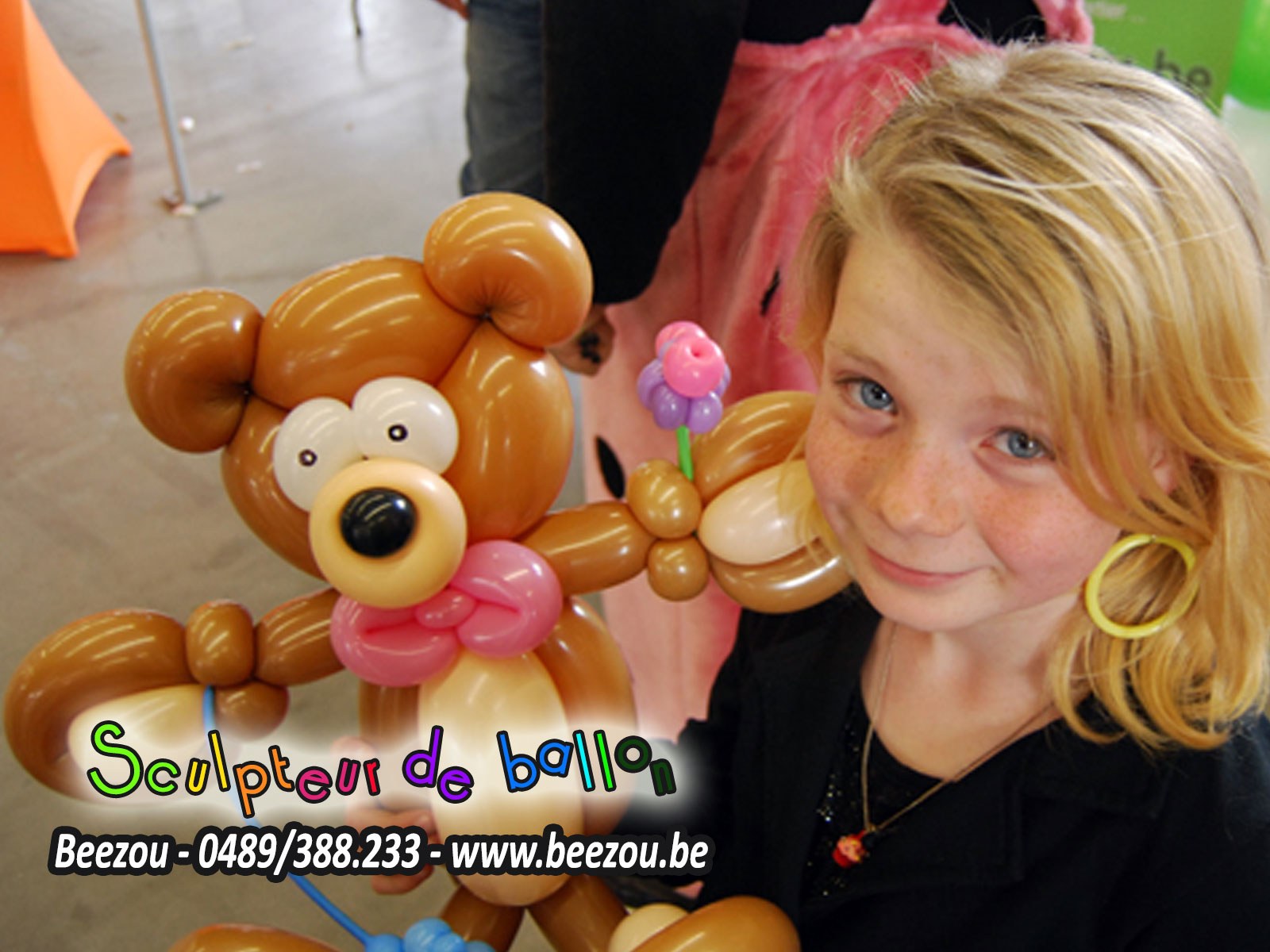 sculpteur de ballon clown